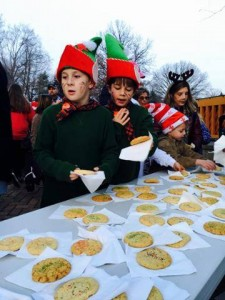Cookies donated by Enclave at Box Hill for the Bel Air Christmas Parade 2015